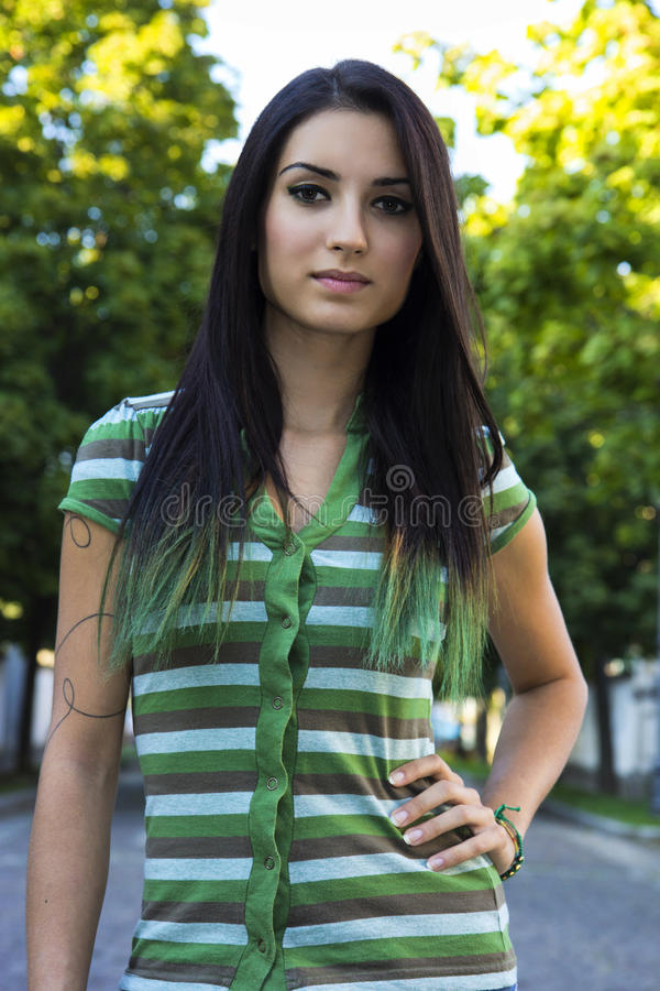 Download I'm stock photo. Image of green, black, caucasian, beauty - 33585188