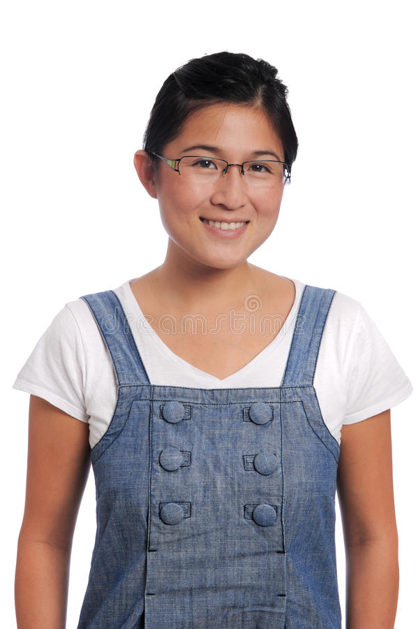 I\'m a simple girl stock photo. Image of brunette, female - 11113140