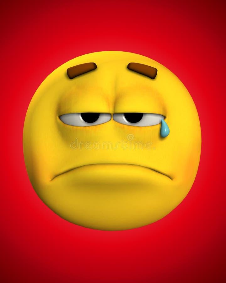 Download I'm Very Sad 3 stock illustration. Image of expression - 4476856