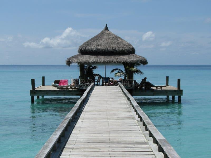 I Maldives fotografie stock