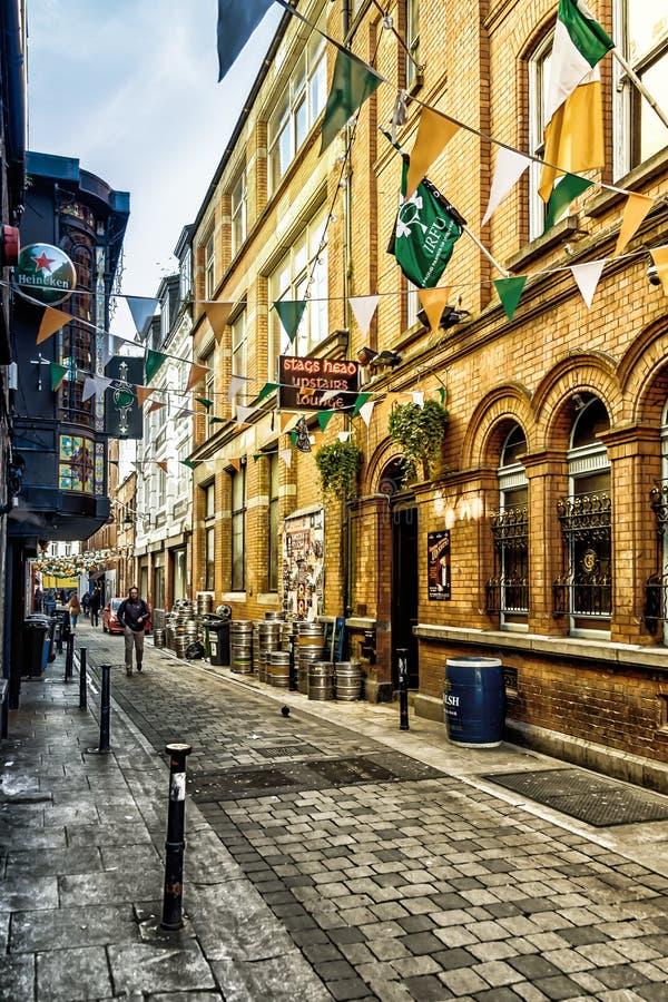 I maschi di Dublino- si dirigono fotografia stock