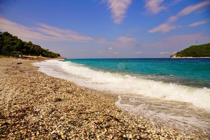 I Milia tirano, Skopelos immagini stock libere da diritti