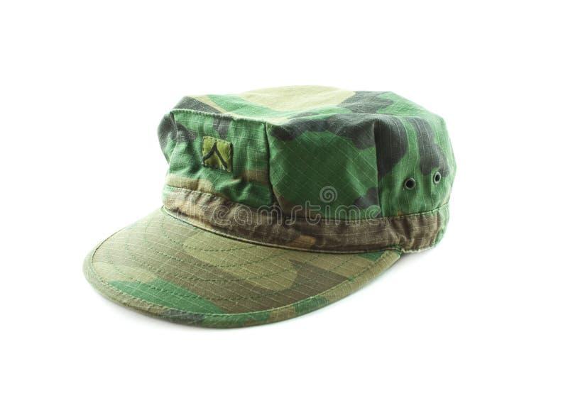 I militari cammuffano il cappello fotografie stock libere da diritti