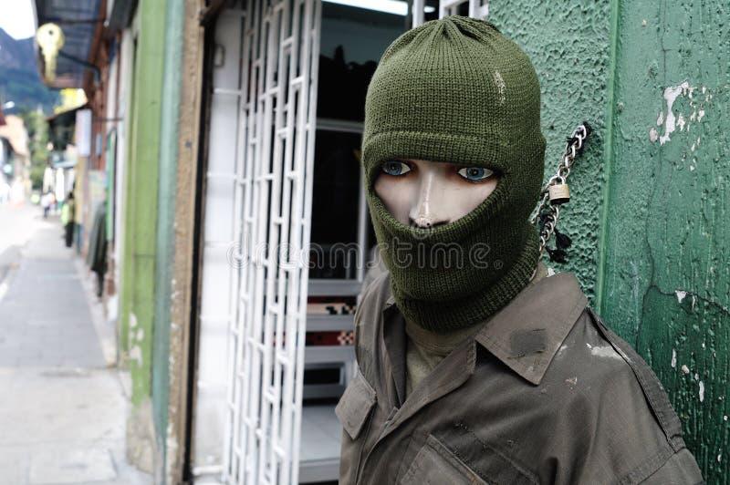 I militari comperano - Bogota fotografie stock