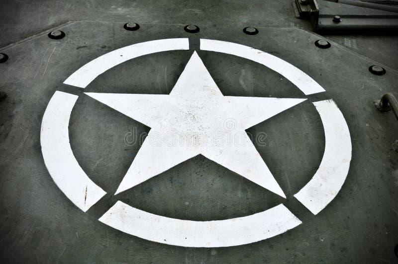 I militari degli Stati Uniti Star immagini stock libere da diritti