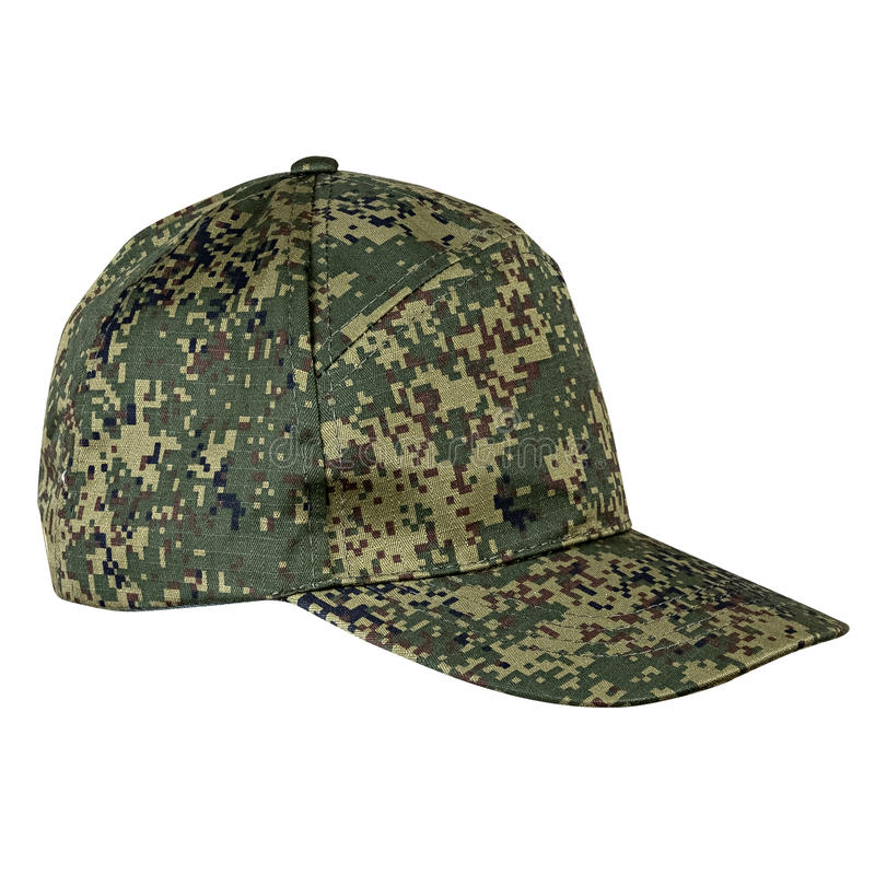 I militari ricoprono, casco cachi fotografia stock