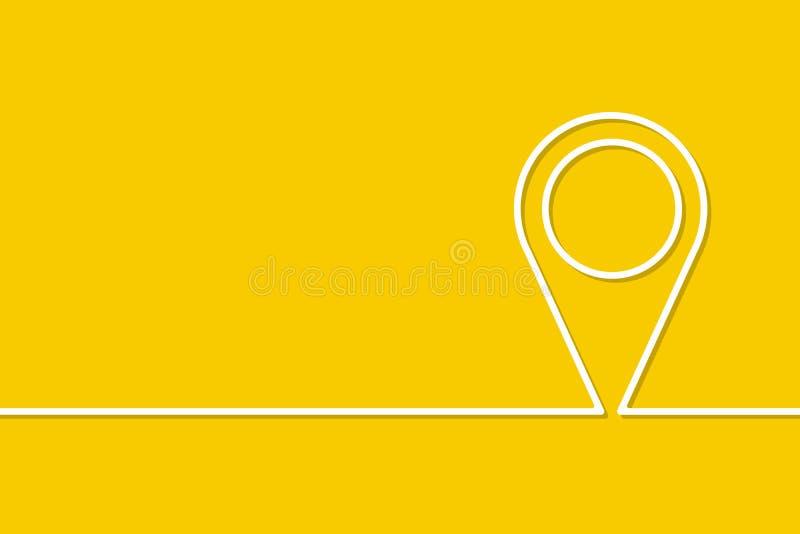 I moduli nello stile di singola linea illustrazione di stock