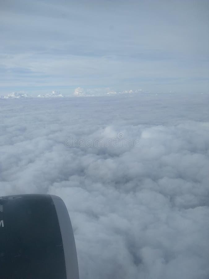 I molnen arkivbilder