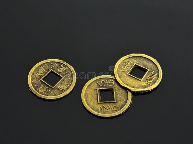I monedas de CHing foto de archivo libre de regalías