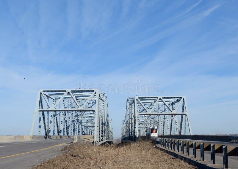 I-55 mosty zdjęcie royalty free