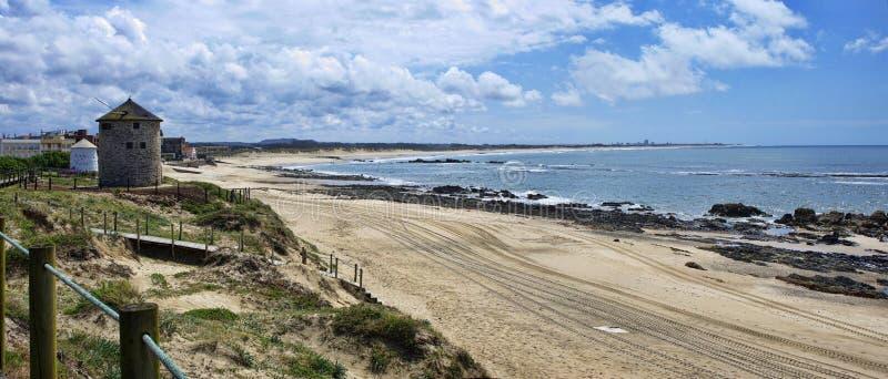 I mulini a vento in Parque naturale fanno Litoral fotografia stock libera da diritti