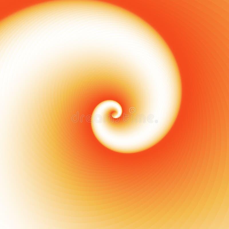 In i oändlighetsgeometri Abstrakt geometrisk koncentrisk virvelbakgrund Havsskal som strukturer royaltyfri illustrationer