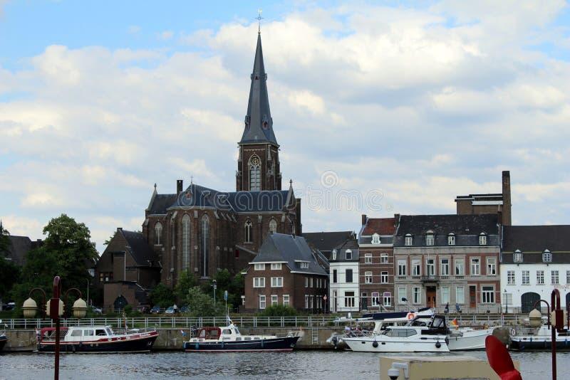 I Paesi Bassi, Maastricht, st Martin Church fotografia stock