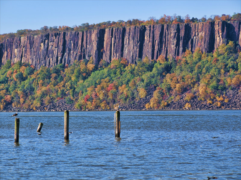 Download I Palisades immagine stock. Immagine di palisades, geologia - 7316555
