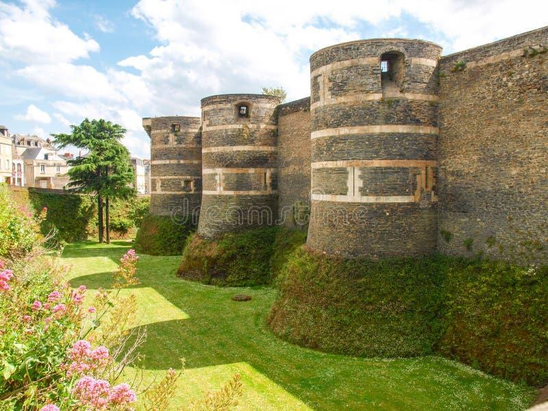 I pericoli di Château immagini stock libere da diritti