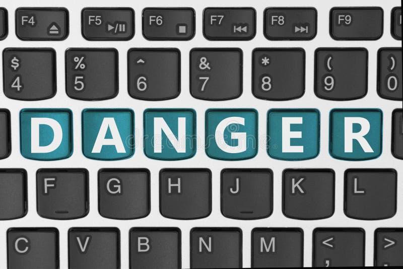 I pericoli di essere online immagini stock libere da diritti