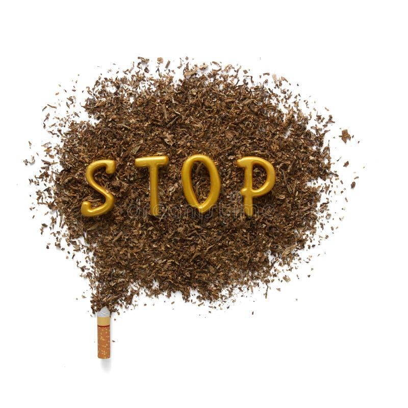 I pericoli di fumo immagini stock libere da diritti
