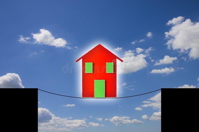 I pericoli e trabocchetti di una casa immagini stock libere da diritti