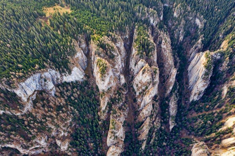I piccoli canyon osservano dal fuco fotografia stock libera da diritti