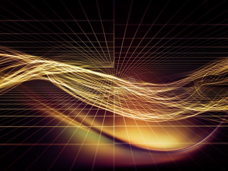 I ponti del mondo virtuale illustrazione vettoriale