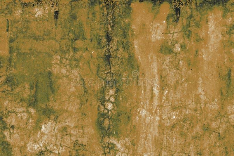 I precedenti arancio pallidi del vecchio estratto di lerciume fotografia stock