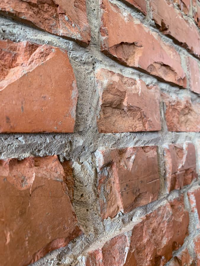 I precedenti di struttura del muro di mattoni fotografia stock