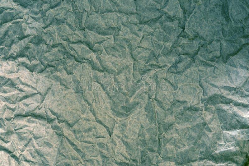 I precedenti sgualciti di struttura della superficie della carta, retro tono di colore fotografia stock libera da diritti