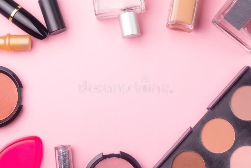 I prodotti cosmetici deridono su immagini stock libere da diritti