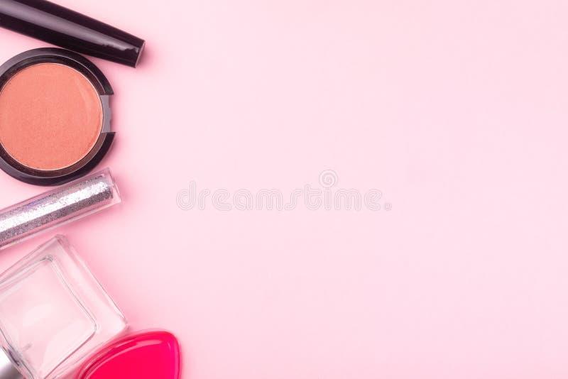 I prodotti cosmetici deridono su fotografie stock