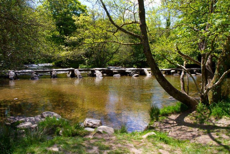 I punti antichi di Tarr nel Devon fotografia stock libera da diritti