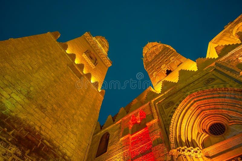 I punti di riferimento di vecchio Il Cairo, Egitto fotografia stock libera da diritti