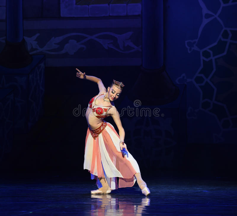 """I am Queen- ballet """"One Thousand and One Nights"""" royalty free stock photos"""