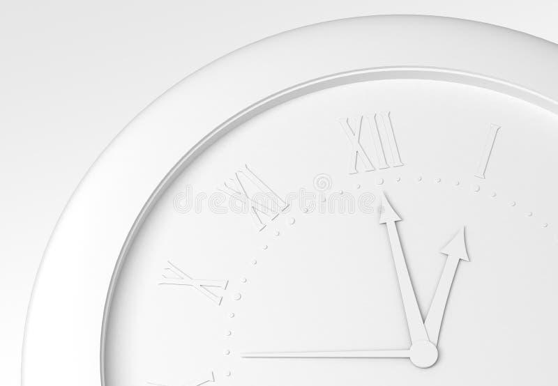 I rätt tid vektor illustrationer
