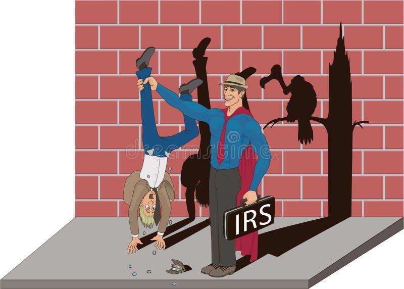 I.R.S. illustration libre de droits