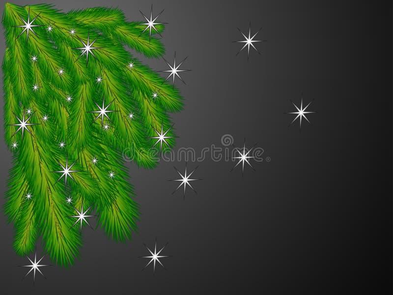I rami dell'albero di Natale royalty illustrazione gratis