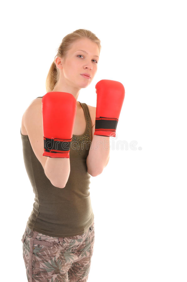 Download I Am Ready To Fight Stock Photo - Image: 14047520