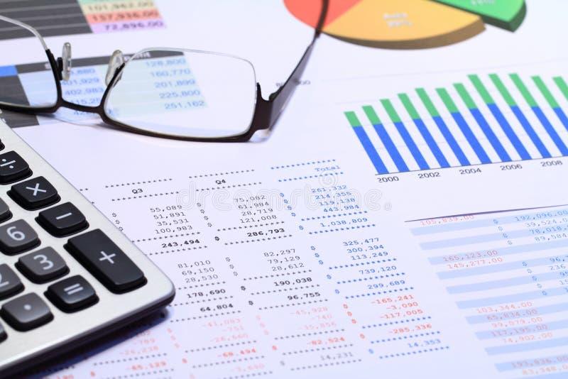 Controllo finanziario fotografia stock libera da diritti