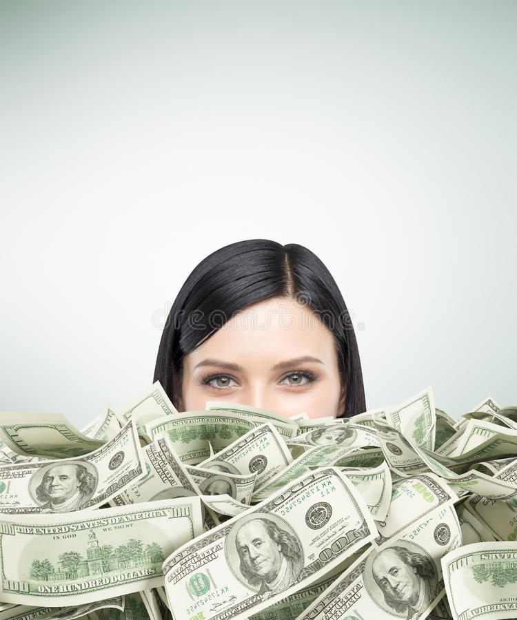 I am rich royalty free stock image