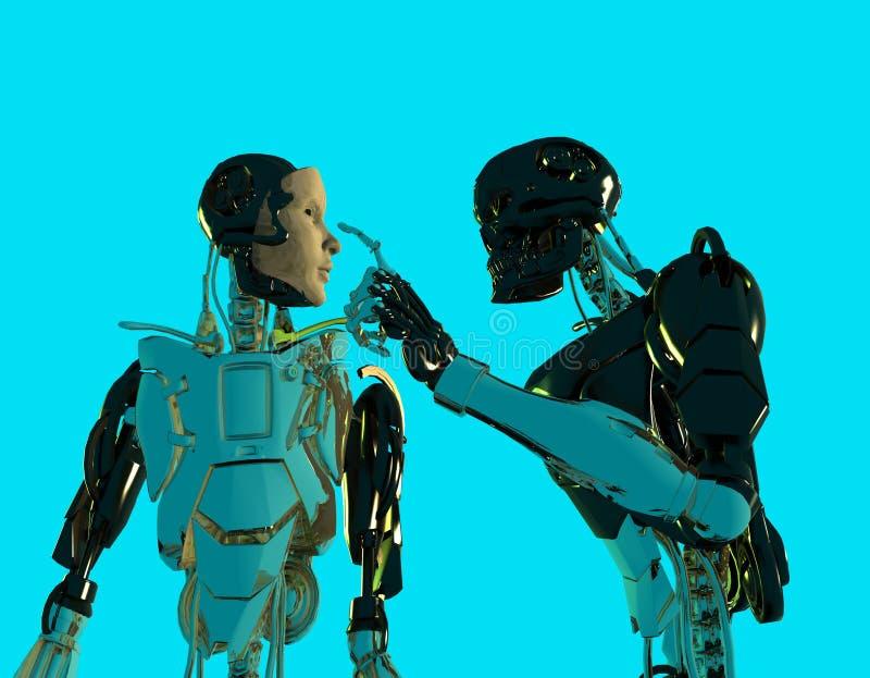 Download I robot illustrazione di stock. Illustrazione di artificiale - 7311166