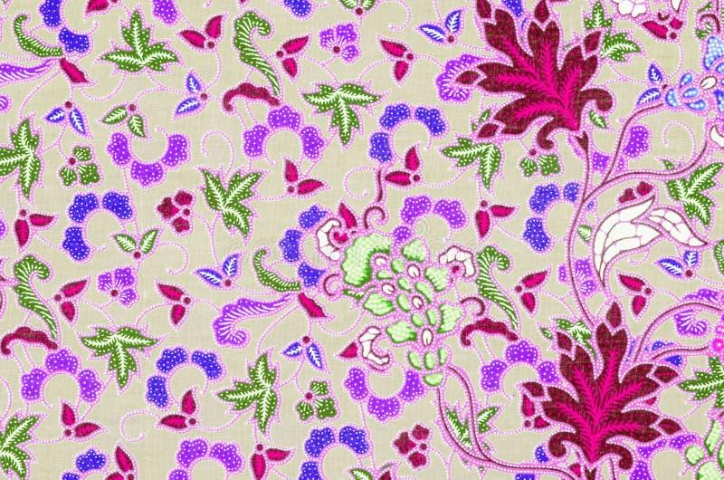 I sarong del batik modellano il fondo in Tailandia, il batik tradizionale s fotografie stock