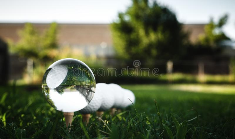 I See Golf in Your Future royalty free stock images