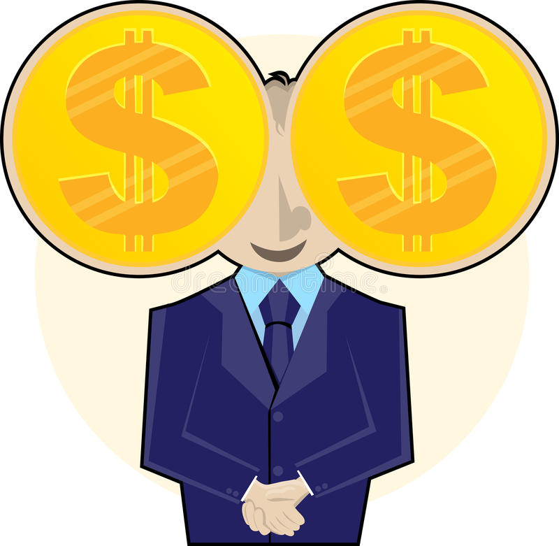 Download I See Money stock vector. Illustration of finance, desire - 19203681