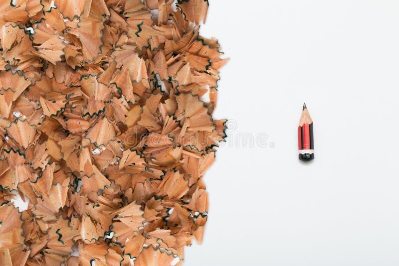 I segni dello sforzo consumati disegnano a matita royalty illustrazione gratis