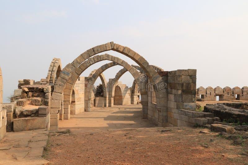 I sette arché immagini stock