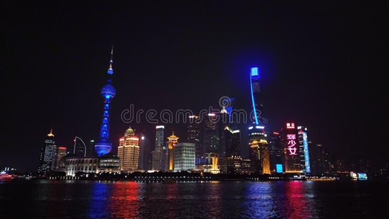¡ I Skyline de Shanghà lizenzfreies stockbild