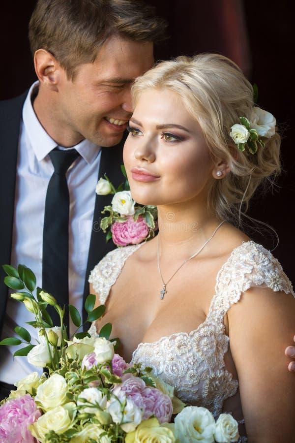 I sogni del ` s della sposa e il ` s dello sposo sogna immagine stock libera da diritti