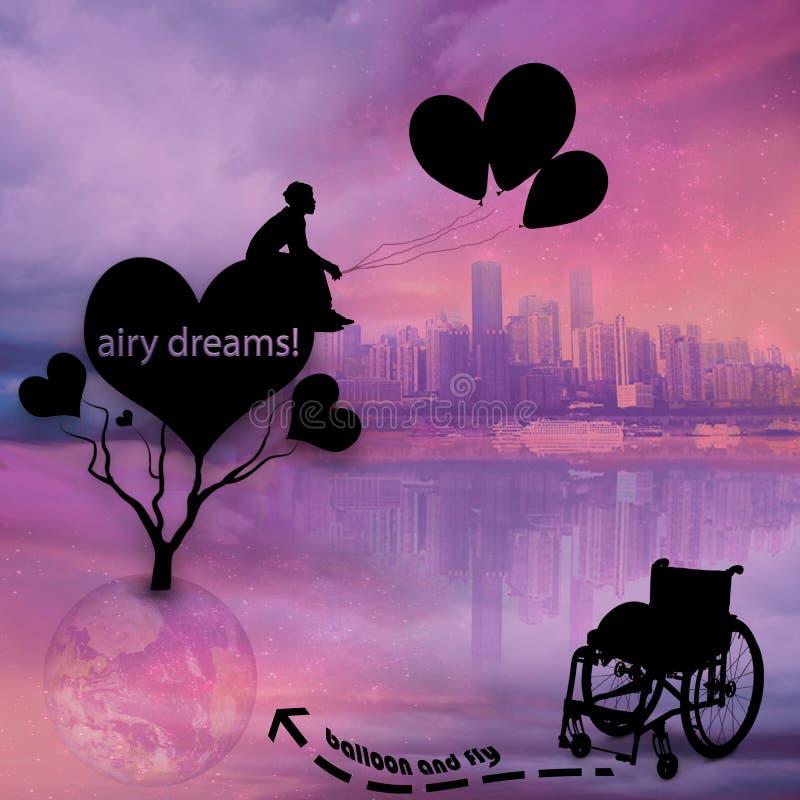 I sogni vengono allineare immagini stock libere da diritti