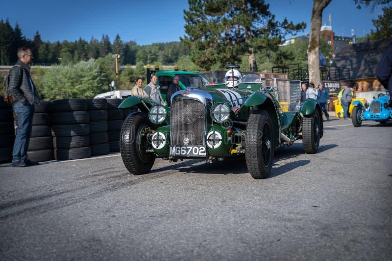 I Spa Francorchamps Spa sex timmar motoriska tävlings- legender arkivfoto