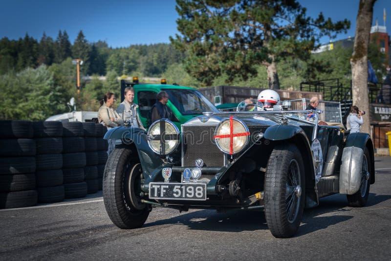 I Spa Francorchamps Spa sex timmar motoriska tävlings- legender fotografering för bildbyråer