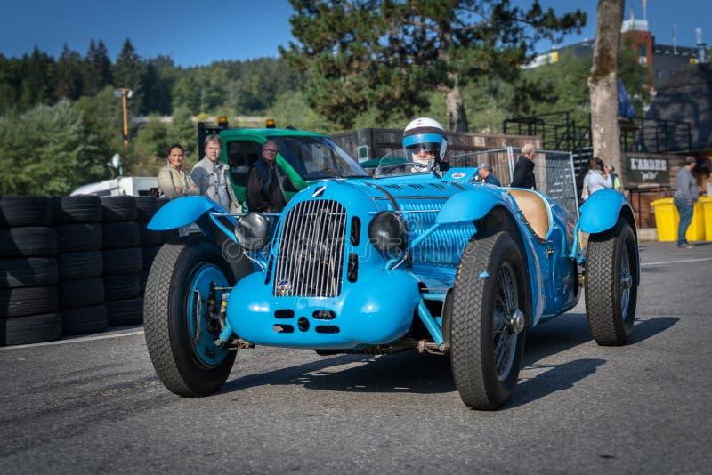 I Spa Francorchamps Spa sex timmar motoriska tävlings- legender royaltyfri foto